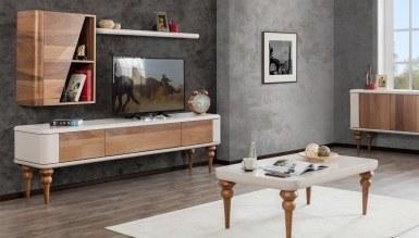 478 - Lüks Volos Raflı TV Ünitesi