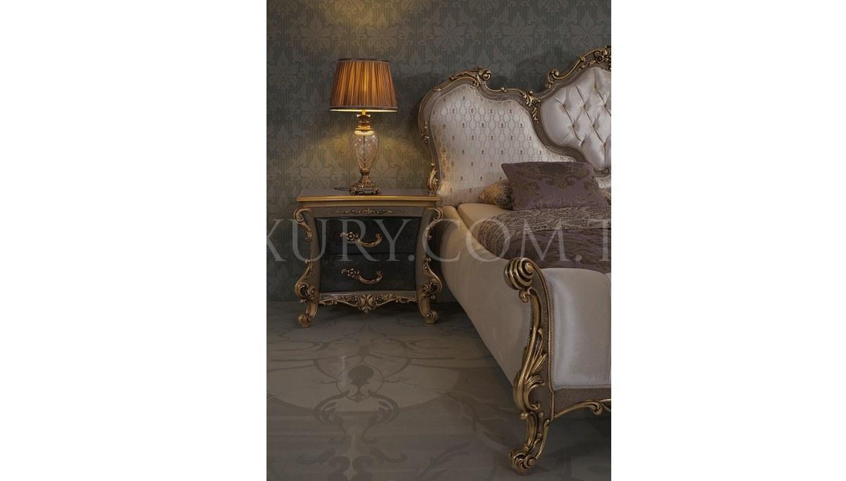 Lüks Volture Gold Yatak Odası