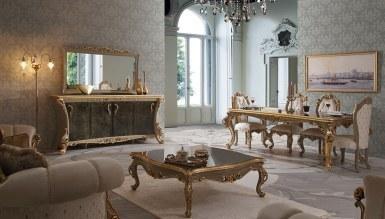 1017 - Lüks Volture Gold Yemek Odası