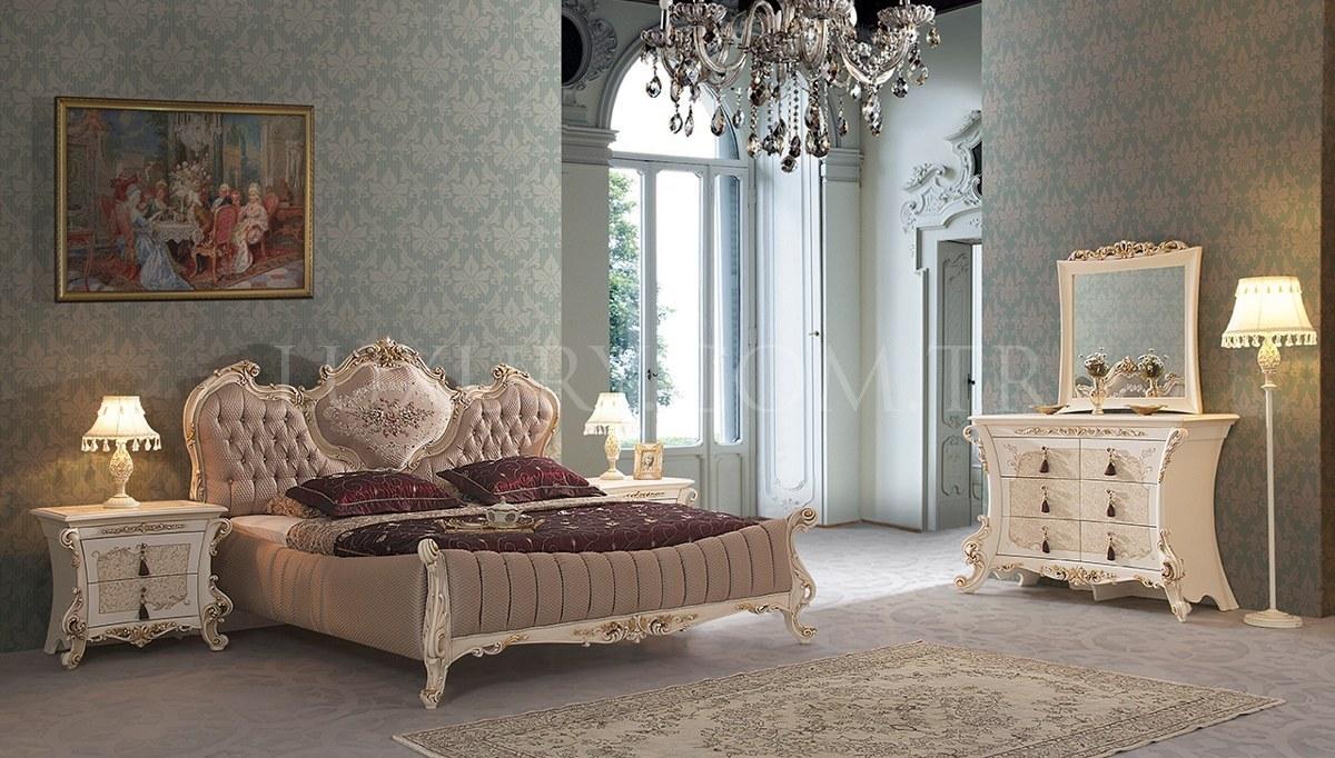 Lüks Volture Klasik Yatak Odası