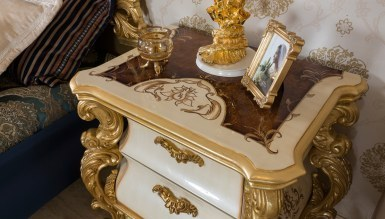 Lüks Vorates Klasik Yatak Odası - Thumbnail