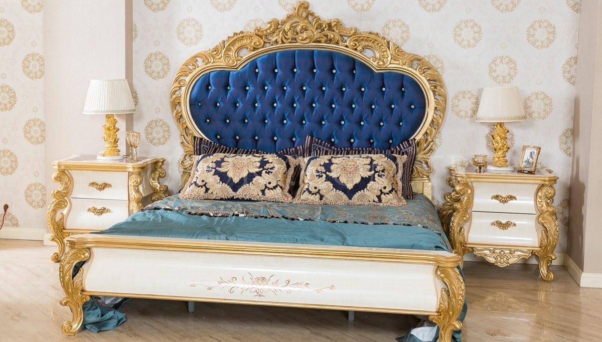 Lüks Vorates Klasik Yatak Odası