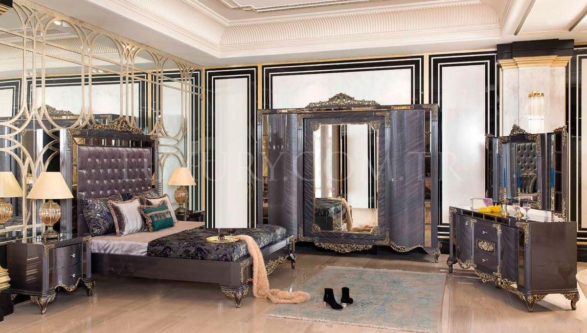 Lüks Yaldız Klasik Yatak Odası