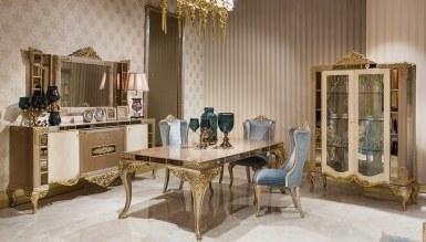 Lüks Yaldız Klasik غرفة الطعام