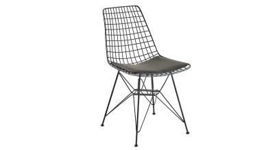 920 - Lüks Yaldız Piramit Ayaklı Sandalye