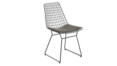 920 - Lüks Yaldız U Ayaklı Sandalye
