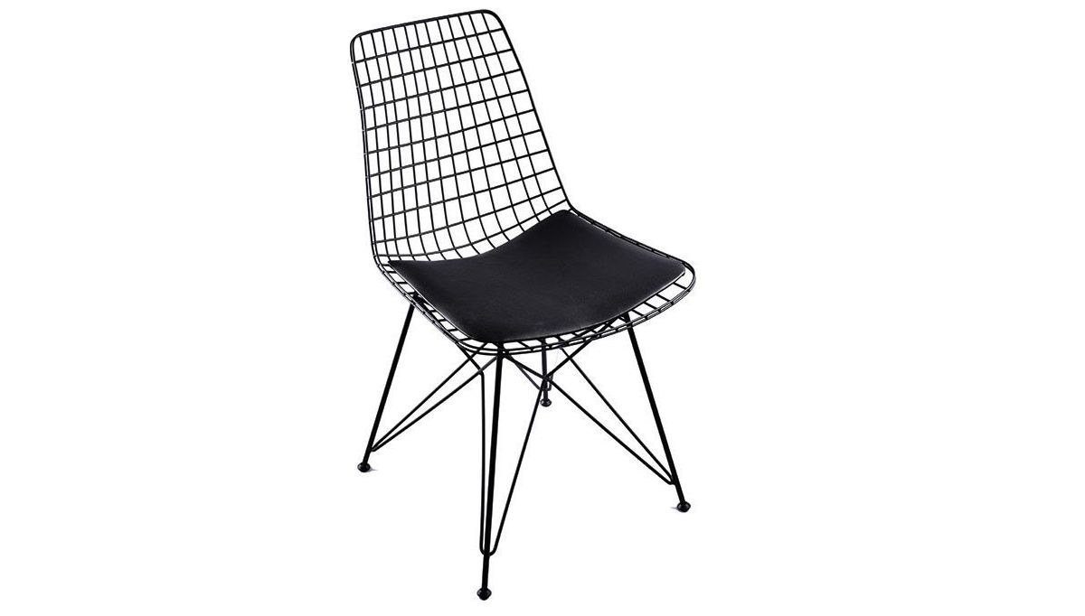 Lüks Yaldız Yıldız Ayaklı Sandalye
