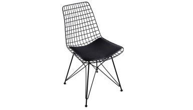 920 - Lüks Yaldız Yıldız Ayaklı Sandalye