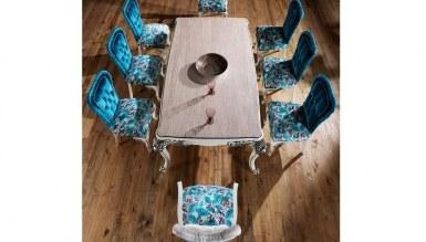 Lüks Yates Klasik Yemek Odası Takımı - Thumbnail