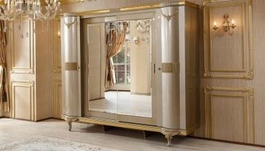 Lüks Zepin Klasik Yatak Odası - Thumbnail