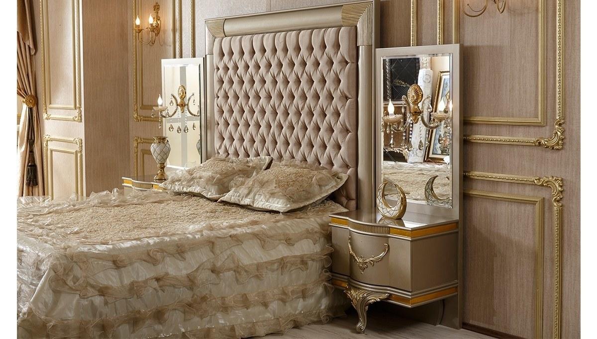 Lüks Zepin Klasik Yatak Odası