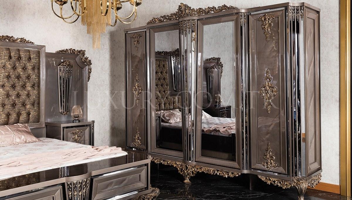 Lüks Zerafet Klasik Yatak Odası