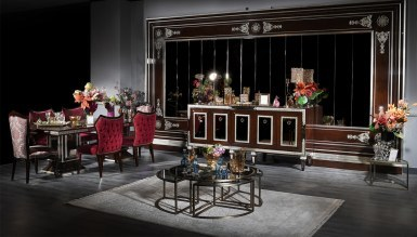Lüks Zerova Klasik Diningroom