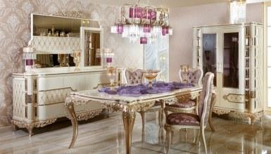 Lüks Zümrüt Klasik غرفة الطعام