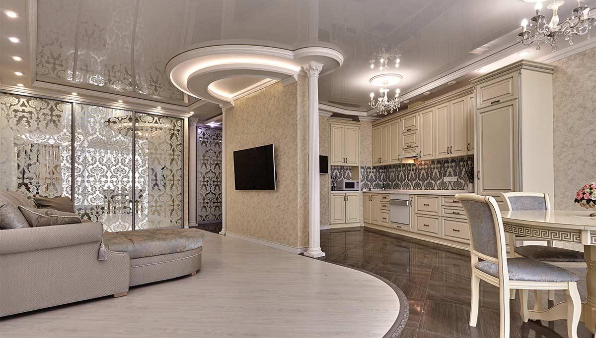 Lüx Salon Dekorasyonu