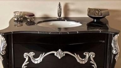 Marena Siyah Klasik Banyo Takımı - Thumbnail