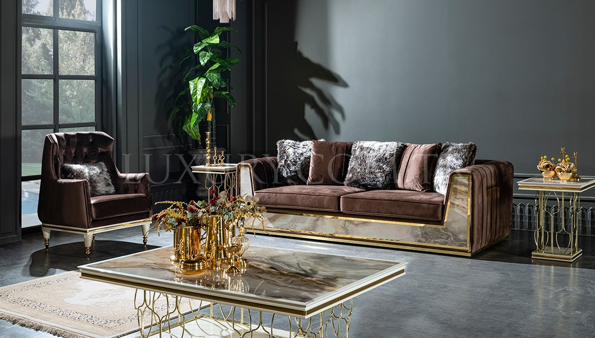 Milano Art Deco Koltuk Takımı
