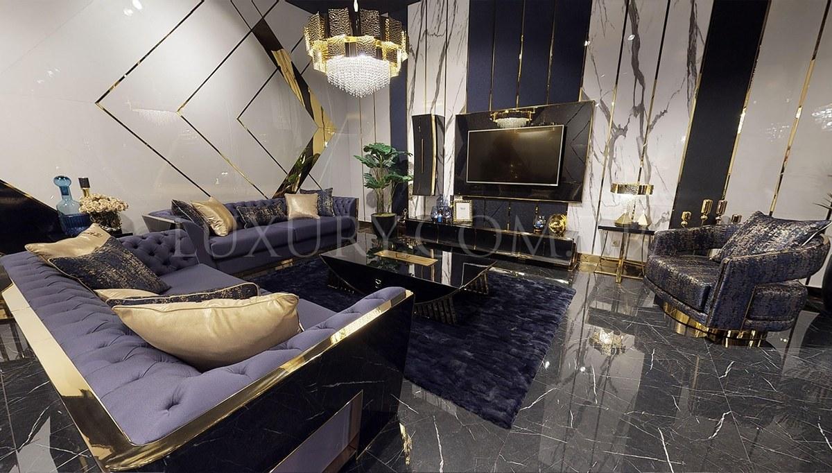 Napoli Luxury Metal Koltuk Takımı