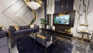 Napoli Luxury Metal Yemek Odası - Thumbnail