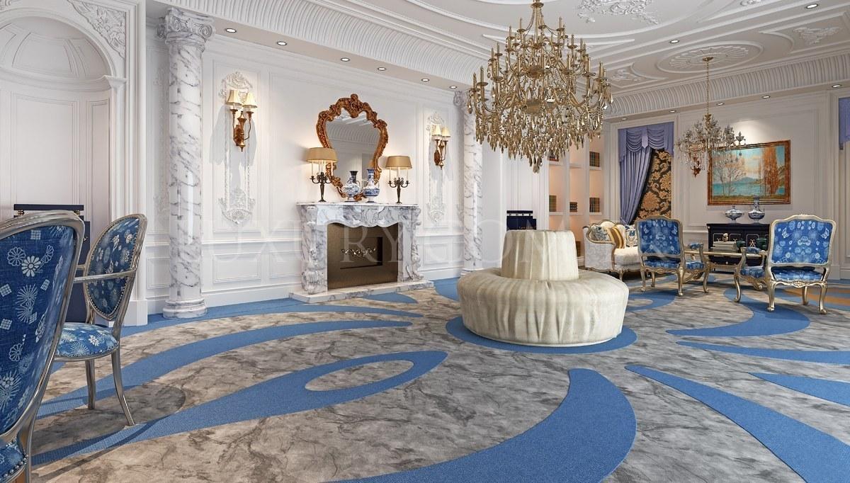 Odessa Salon Dekorasyonu