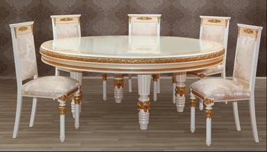 Pesena Yuvarlak Toplantı Masası - Thumbnail