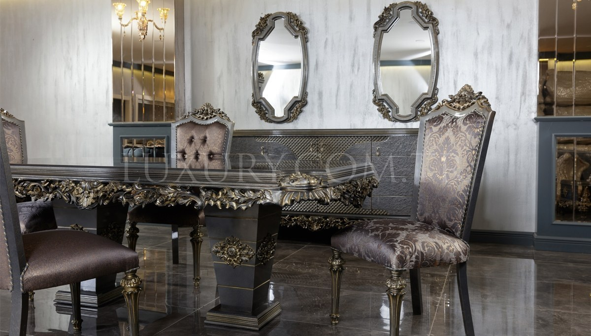 Piraye Klasik Yemek Odası