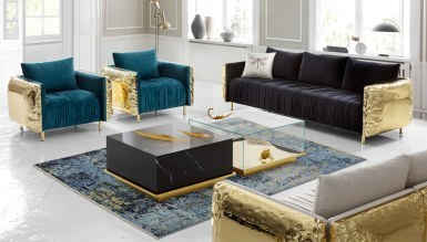 Ramina Metal Living Room