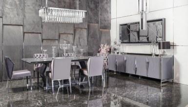Rayona Luxury Metal Yemek Odası - Thumbnail