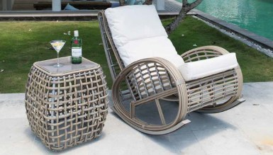 Relax Sallanır Bahçe Dinlenme Koltuğu - Thumbnail