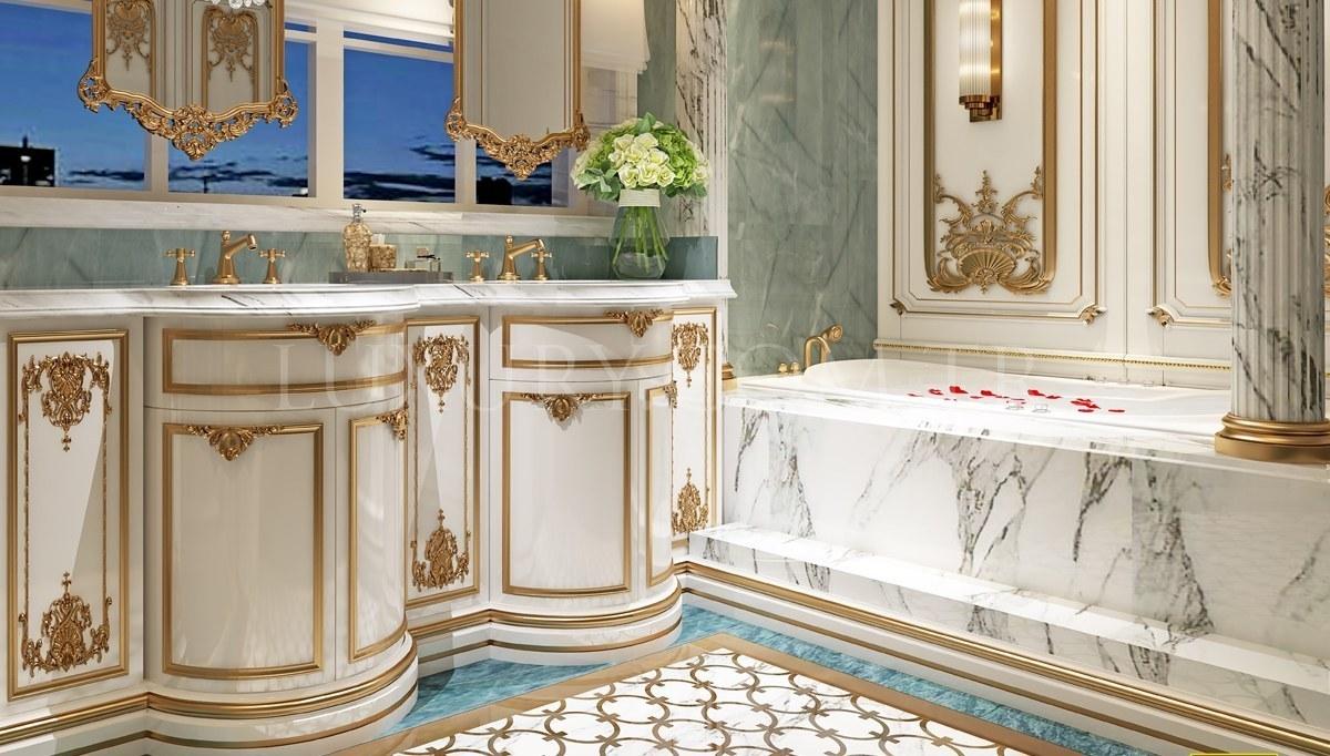 Rutba Banyo Dekorasyonu