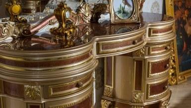 Safiros Ceviz Klasik Yatak Odası - Thumbnail