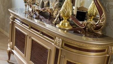 Safiros Ceviz Klasik Yemek Odası - Thumbnail