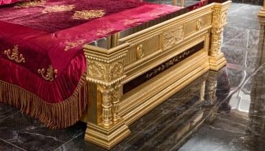Lüks Şah Klasik Yatak Odası - Thumbnail