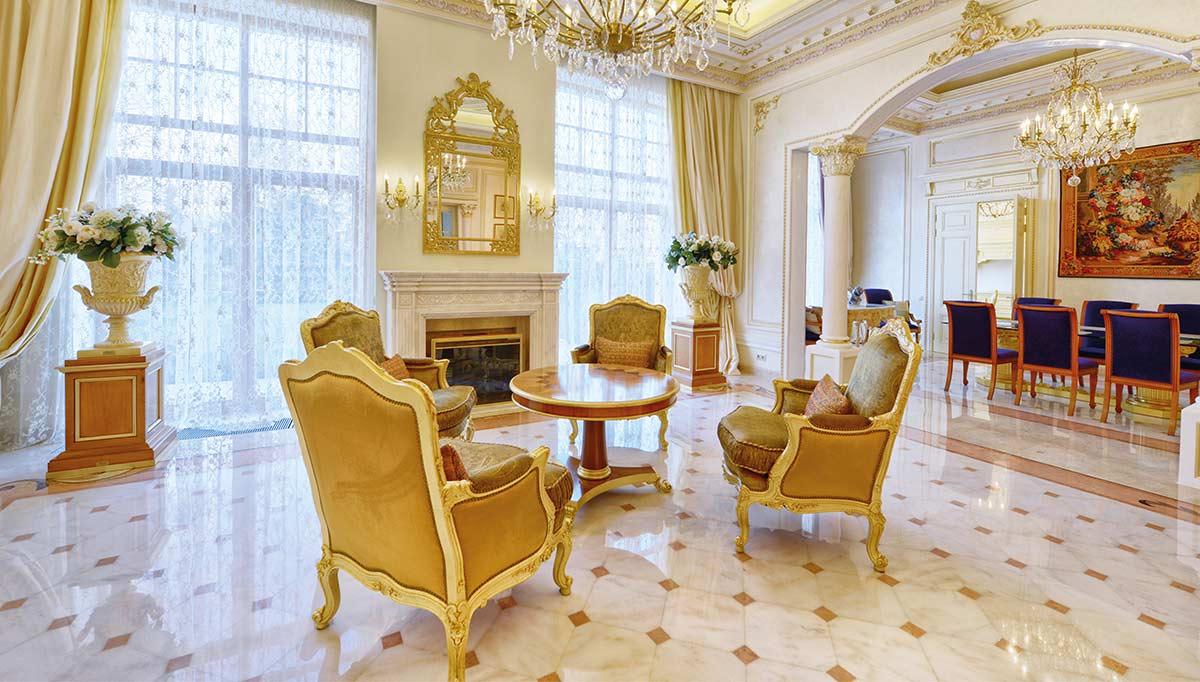 Saraylı Salon Dekorasyonu