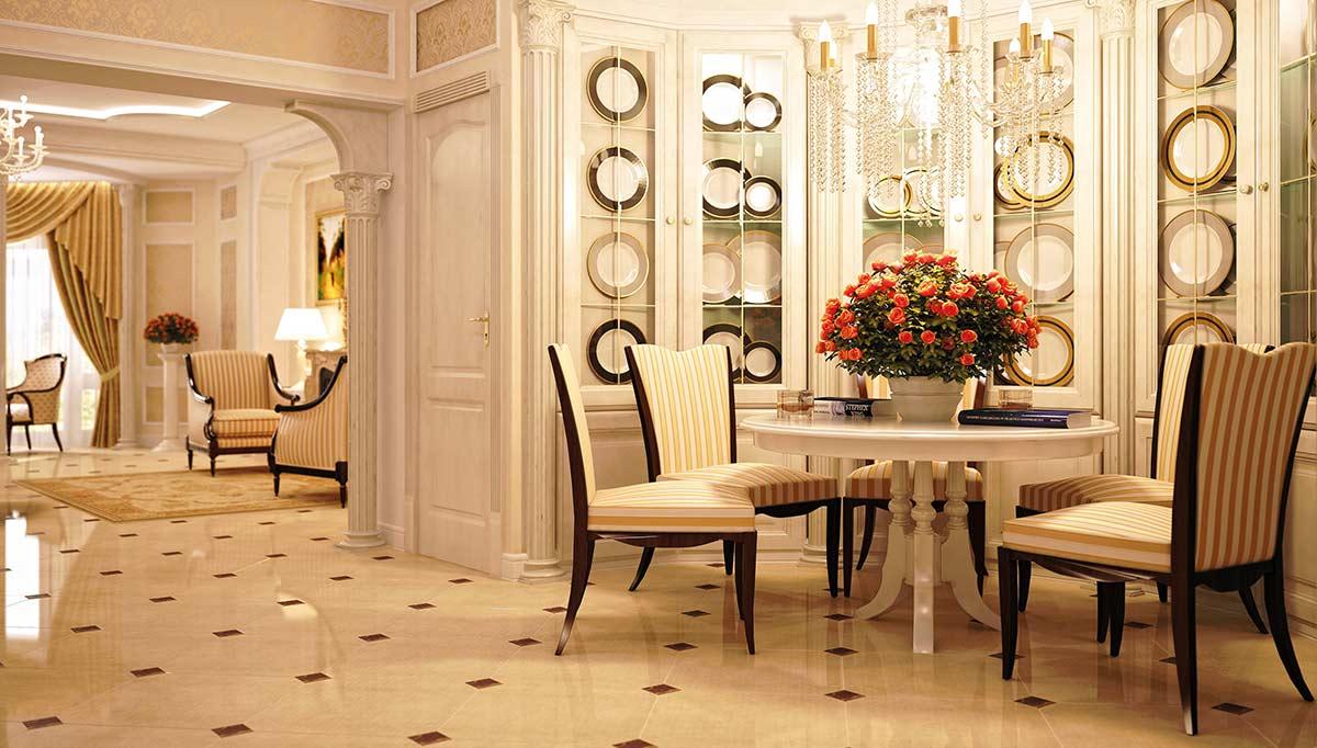 Sepya Salon Dekorasyonu