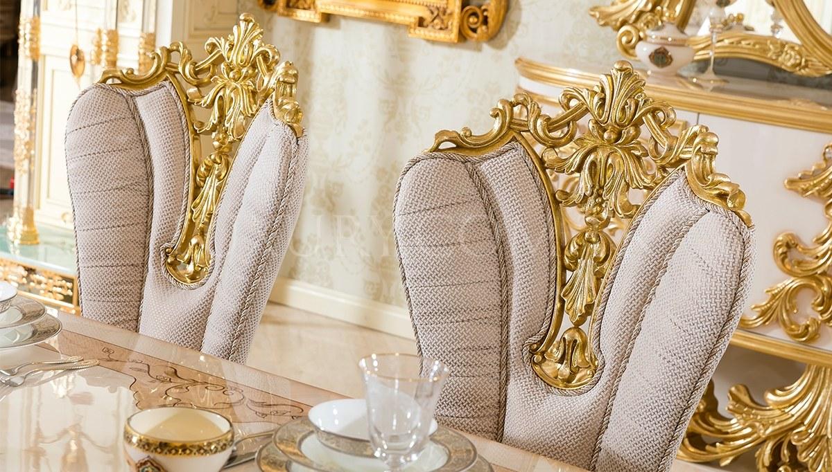 Sofia Altın Varaklı Yemek Odası