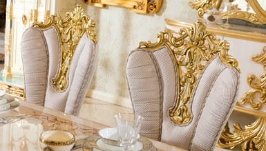 Sofia Altın Varaklı Yemek Odası - Thumbnail