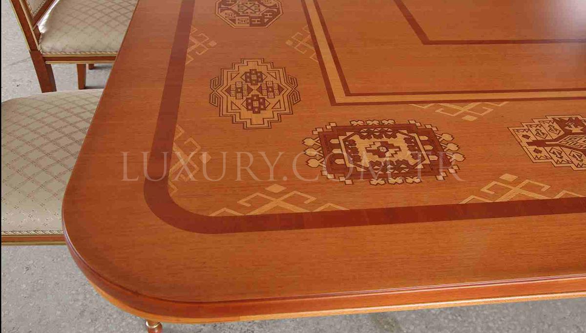 Stonas Klasik Bronz Toplantı Masası