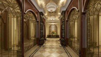 - Sütunlu Otel Dekorasyonu