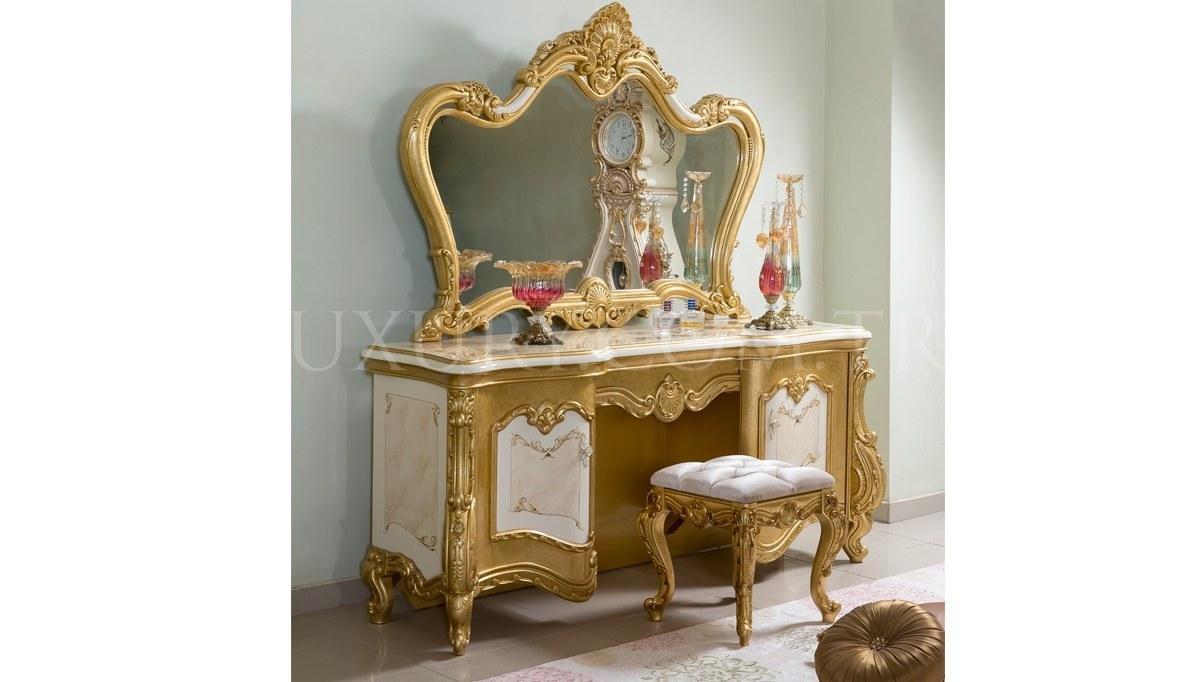 Tuğrahan Altın Varaklı Yatak Odası