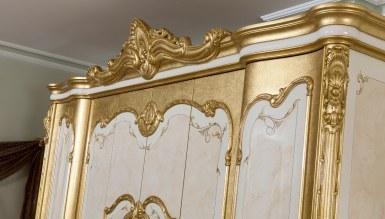 Tuğrahan Altın Varaklı Yatak Odası - Thumbnail