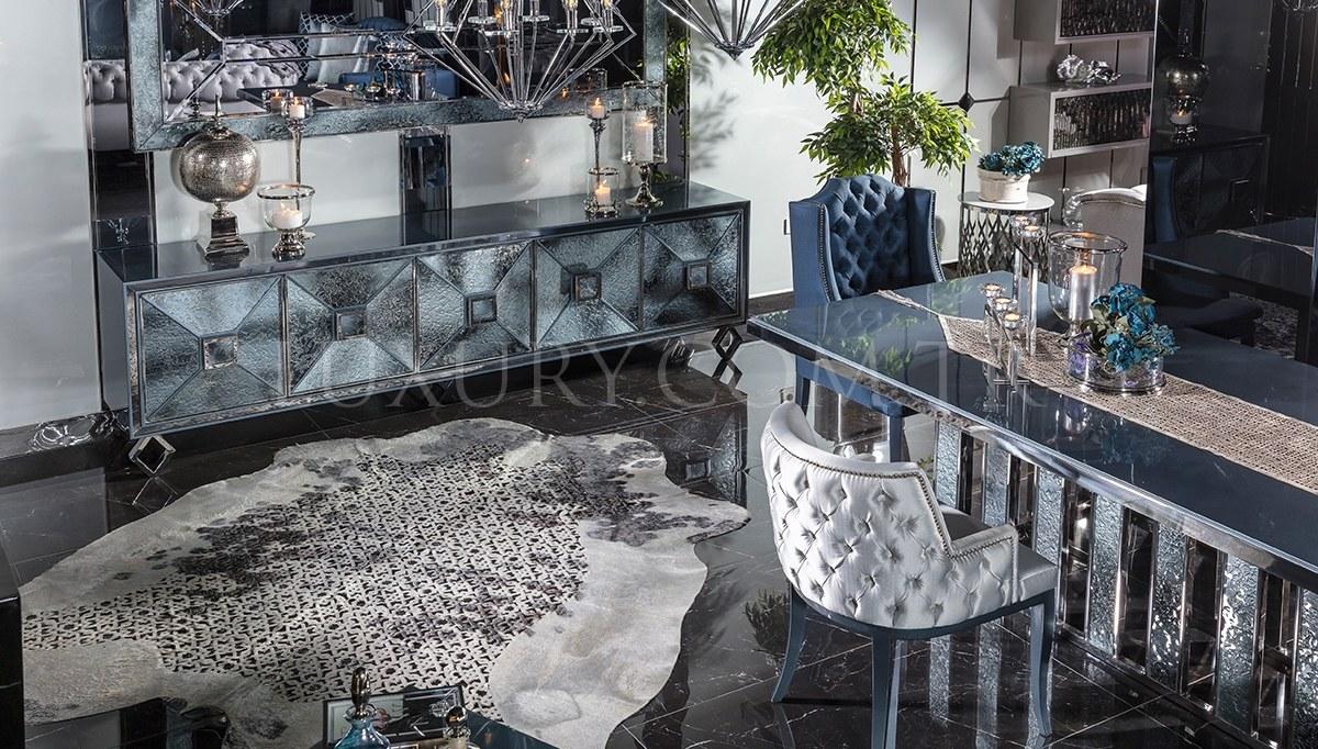 Varnas Metal Yemek Odası