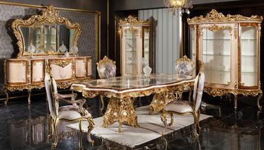 Veliaht Klasik Yemek Odası - Thumbnail
