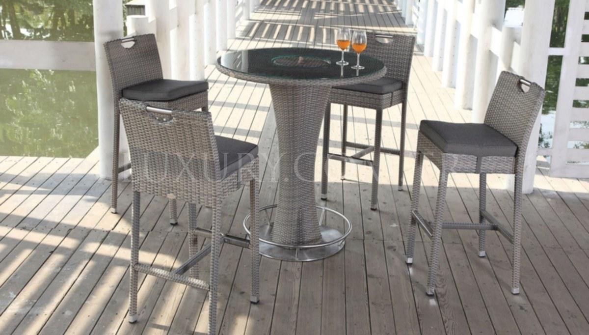 Velo Bahçe Bar Masası Seti
