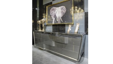 Vision Luxury Metal Yemek Odası - Thumbnail