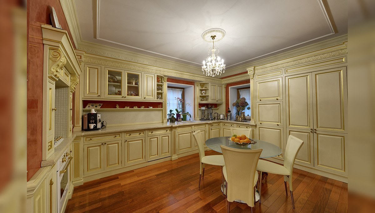 Yeşillant Rustik Mutfak Dekorasyonu