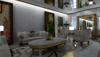 Zamat Salon Dekorasyonu