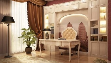 Zarif Ofis Dekorasyonu